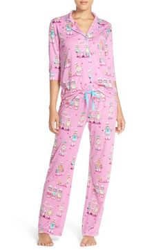 PJ Salvage 'Playful' Print Pajamas available at #Nordstrom