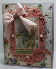 Secret Garden Birthday Card by SoSherry - Cards and Paper Crafts at Splitcoaststampers