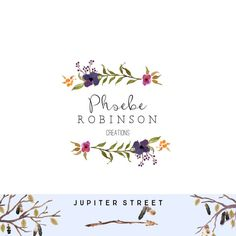 Logo Design-Photographer Logo-Boutique by JupiterStreetDesigns