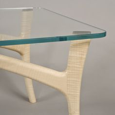 Designed by James Ryan. Made by Dan Pateman in rippled sycamore.