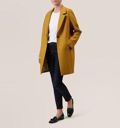 Yellow Sunny Coat | Coats | Coats and Jackets | Hobbs