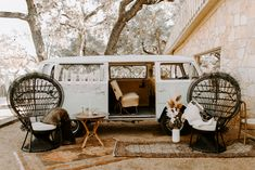 Black Peacock Chairs, Vintage Rugs, and Wooden Coffee Table P. T and V Photography Bohemian Wedding Inspiration, Boho Wedding, Wedding Blog, Wedding Venues, Wedding Reception, Eclectic Wedding, Island Weddings, Seating Charts, Reception Decorations