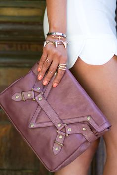 Purple Clutch.