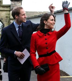 Catherine, Duchess of Cambridge and Prince William returned to the University of St Andrews, where they met in 2001, for the launch of the celebrations for the 600th anniversary in February 2011