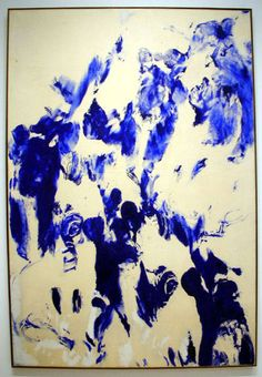 Famous Paintings -- Famous Artists -- Yves Klein ANT154 #wallartroad #abstractart