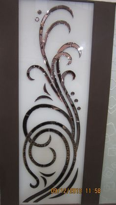 Etched Glass Door, Frosted Glass Door, Leaded Glass, Glass Etching, Glass Painting Designs, Stained Glass Designs, Kitchen Glass Doors, Window Glass Design, Steel Gate Design