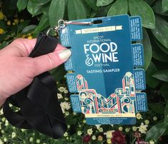 Epcot Food and Wine Festival's Tasting Sampler Package (AllEars® Team Blog)