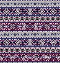 FAIR ISLE (this term actually describes a knitting technique original from the Scottish island Fair Isle)