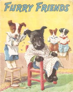 "Illustrated by A. E. Kennedy. ""Furry Friends"", Juvenile Productions Ltd., undated."