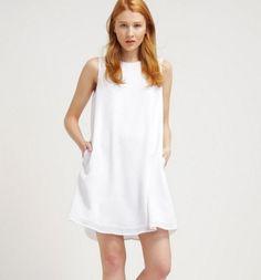 KIOMI Sukienka letnia mini zwiewna white