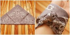 How to Make a Bandana Bracelet