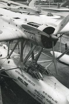 CRDA Cant. Z.501 Gabbiano 2 salone internazionale aeronautico di Milano, ottobre 1937