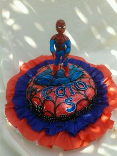 torta de hombre araña