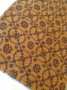 """BLACK & MUSTARD HAMPTON WEAVE WOVEN TABLE RUNNER 57"""" x 13"""" Cot/Acry - Primitive #Unbranded"""