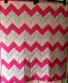 Zigzag quilt for Project Linus (March 2016)