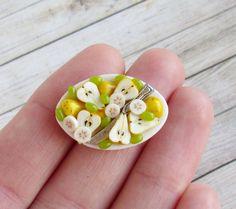 SOON Pears Dollhouse Handmade Miniature (polymer clay) #Handmade