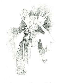 MIKE MIGNOLA - Hellboy & Paleman