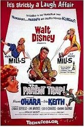 The Parent Trap (1961) IMDb logo    with Hayley Mills, Maureen O'Hara, and Brian Keith