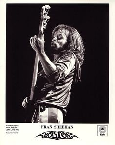 fran sheehan march 26 1946 american bassist here in 1976 known from the band boston. Black Bedroom Furniture Sets. Home Design Ideas