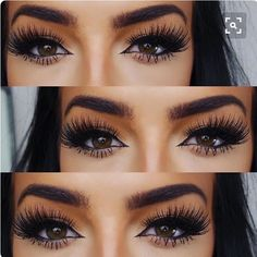 i wish i could find what eyelashes she's wearing :( i want them.