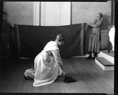 Correct Postures for Housework c. early 20th century