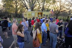 Food trucks! See them rally and eat great food on April 13 & 14!