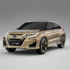 中国・上海で開催中の2015年上海モーターショーにて、中国専用モデルのデザインの方向性を示すSUVコンセプトモデル「Concept D」を世界初披露しました! http://honda.eng.mg/906fb