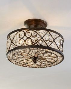Woven Crystal Fixture