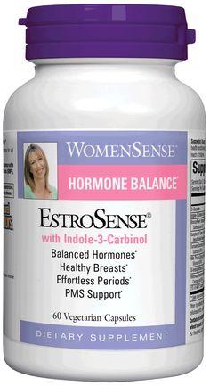 EstroSense® is designed to support natural hormone balance for all female hormonal concerns.*