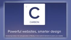 Weebly Carbon Relaunches With New Tools for Small Business