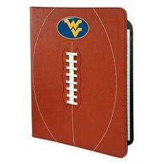 West Virginia Mountaineers Football Leather Portfolio