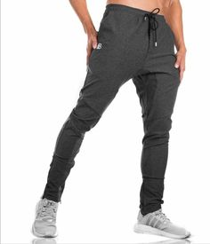 e0456e6a7d7 New Men Autumn Winter Man Gym workout Fitness Bodybuilding Joggers Men  Casual Pants cotton Pencil Pants