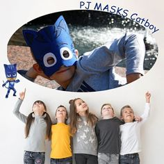 "Catboy is another character ""PJ MASKS"". In ordinary life, this is a cheerful blue-eyed boy, and at night he turns into a superhero with the…"
