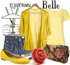 Belle (The Beauty and the Beast) Inspired Outfit