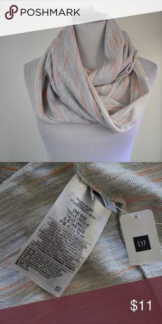 61dd367e65a2 GAP Gray Infinity Scarf 43.5x79 cm brand new Brand new with tag GAP  Infinity Scarf