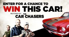 Enter to win a 1965 Mustang Fastback restored by The Car Chasers from CNBC Prime! Contest runs between Oct. 1965 Mustang, Mustang Fastback, Online Contest, Cool Cars, Classic, Ford Mustangs, Car Stuff, Organizing, Giveaway