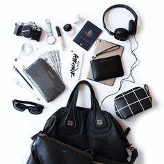 いいね!2,387件、コメント65件 ― Flatlays, Fashion & Lifestyleさん(@designbyaikonik)のInstagramアカウント: 「Arrived in New York City - jet lag is kicking in! Now live on the blog all my inflight travel…」