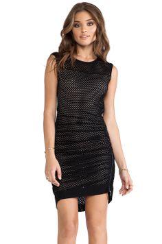 BCBGMAXAZRIA Dell Dress in Black from REVOLVEclothing