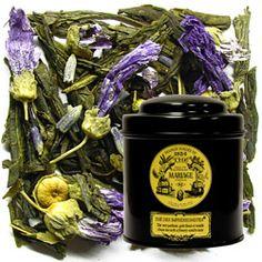 TC962 : THÉ DES IMPRESSIONNISTES® Thé vert parfumé, goût fleuri & vanillé
