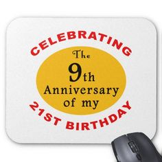 30th Birthday Gag Gifts Mouse Pad