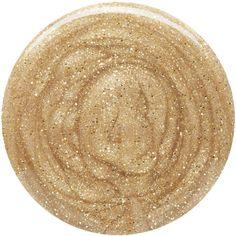 Burberry Beauty Nail Polish - Gold Shimmer No.452 ($23) ❤ liked on Polyvore featuring beauty products, nail care, nail polish, burberry, burberry nail polish and shiny nail polish