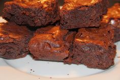 Fudgy One Bowl Brownies with Chocolate Chips   Challah with Dinner - Recipes for Every Meal of the Week