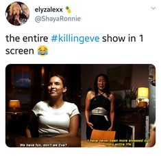 Lmao the incorrect Killing Eve quotes crack me up😂😂 - N e r d S t u f f - Serie Bbc Tv Series, Series Movies, Movies Showing, Movies And Tv Shows, Jodie Comer, Fandoms, Opposites Attract, Book Tv, My Emotions