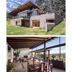 "260 Likes, 9 Comments - Luxury & Modern Architecture (@doubleview.homes) on Instagram: ""_  Los Chillos House by Diez+Muller Arquitectos.  Cuenca Canton, Ecuador  Sebastían Crespo…"""
