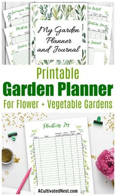 garden care vegetable Printable Garden Planner- Whether youre trying to create a beautiful flower garden or bountiful vegetable garden, our printable garden planner and journal can help! Backyard Vegetable Gardens, Vegetable Garden Design, Vegetable Garden Layout Planner, Garden Layouts, Gardening Vegetables, Container Gardening, Starting A Garden, Seed Starting, Printable Planner