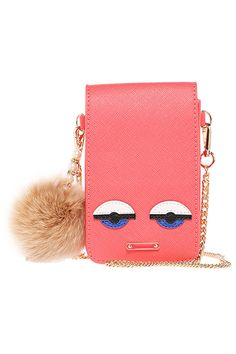 #ROMWE | Smiling Face Stitching Watermelon-red Bag, The Latest Street Fashion
