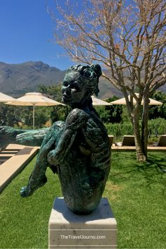 The fabulous contemporary art at the Leeu Estates, South Africa.