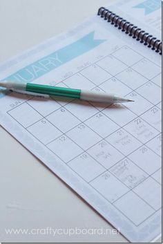 Blog Planner! This has made such a difference for me in my post plans... I'm so glad I have one, finally!