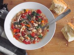 Recipe: Not Quite Minestrone Soup | Poor Girl Eats Well — How to eat ridiculously well on a minuscule budget.