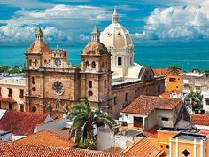 Cartagena, Colombia - Magical walled city in South America. Oh The Places You'll Go, Places To Travel, Places To Visit, Wonderful Places, Beautiful Places, Travel Around The World, Around The Worlds, Cartagena Spain, Magic Places